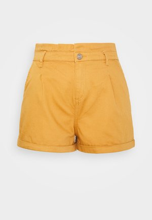 ONLKOSMA ILIANA LIFE  - Denim shorts - golden/brown