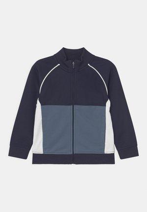 ZIP THROUGH - Sweater met rits - navy