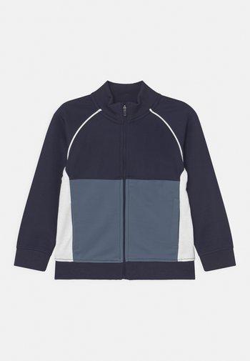 ZIP THROUGH - Zip-up sweatshirt - navy