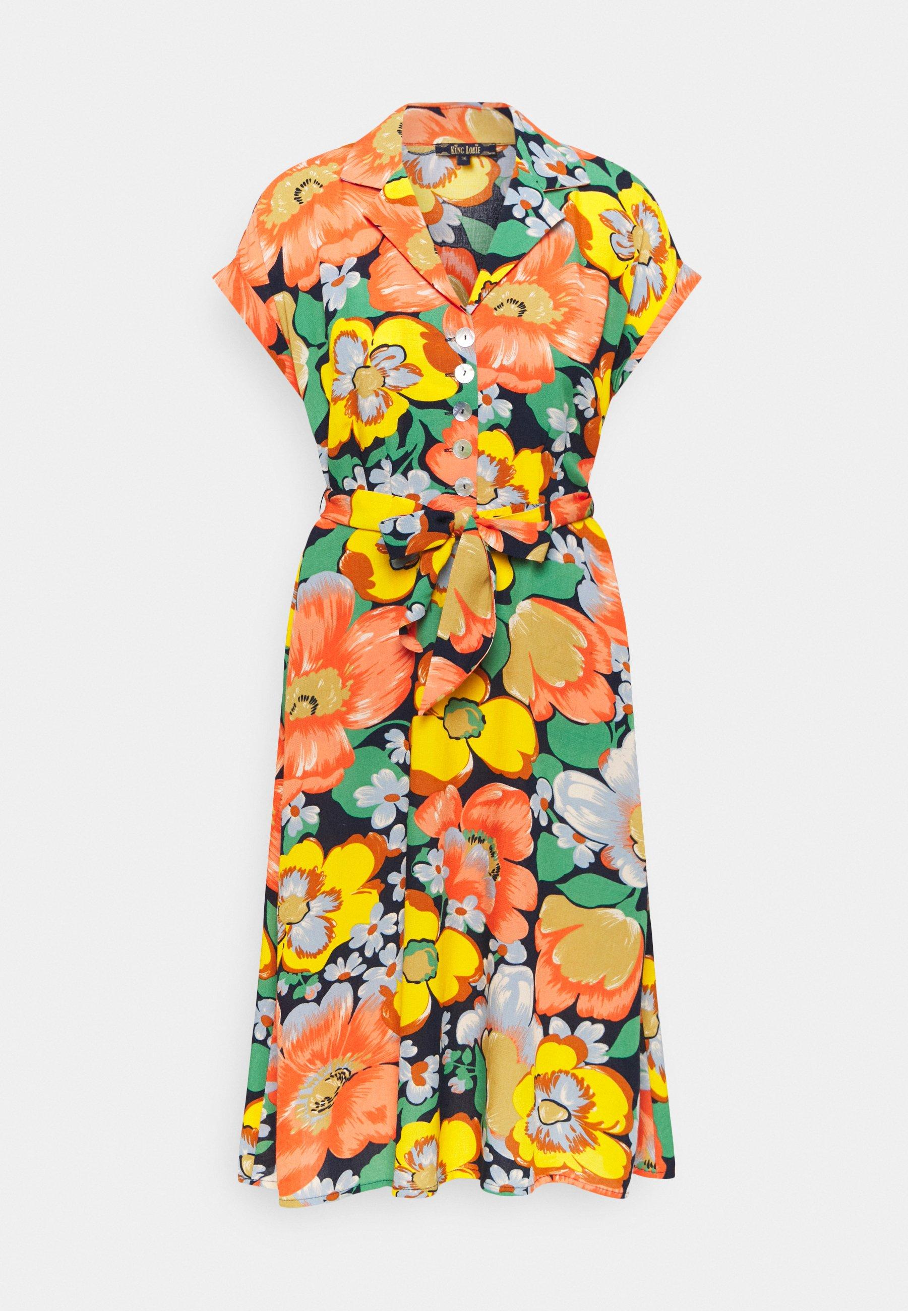 Femme DARCY DRESS SUNBEAM - Robe chemise