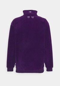 GOODBOIS - OFF HALFZIP - Fleecová mikina - purple - 1