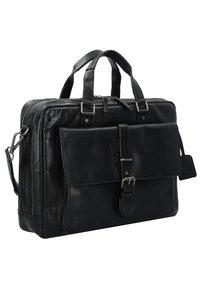 Leonhard Heyden - ROMA - Briefcase - black - 2