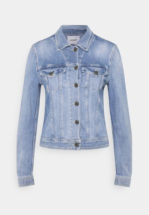 LEFT HAND STRETCH - Denim jacket - blue thread