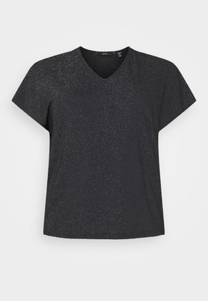 VMJELINA  - Print T-shirt - black/silver