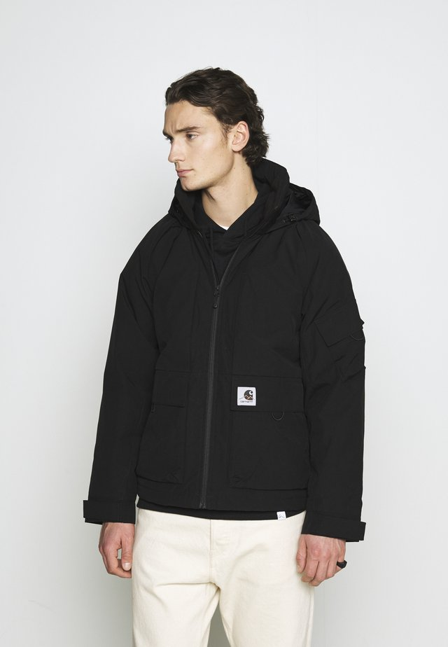 BODE JACKET - Lehká bunda - black
