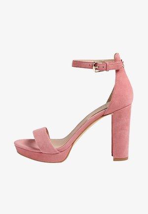 OMERE - High heeled sandals - rose