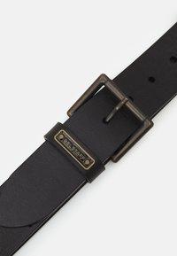 Belstaff - LEDGER BELT UNISEX - Belt - black - 1