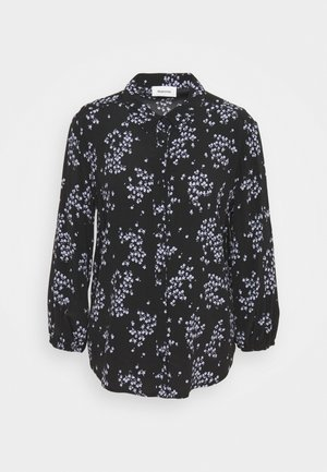 HUNCH PRINT - Button-down blouse - black