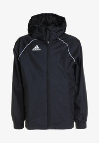 adidas Performance - CORE ELEVEN FOOTBALL JACKET - Hardshell jacket - black/white - 0