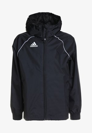 CORE ELEVEN FOOTBALL JACKET - Chaqueta Hard shell - black/white