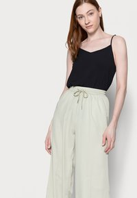 Missguided Tall - WIDE LEG TROUSER - Trousers - sage - 3