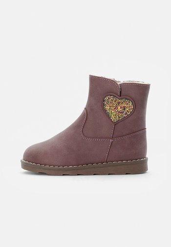 BOOTIES  - Classic ankle boots - mauve