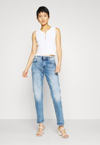 G-Star - KATE BOYFRIEND - Jeans relaxed fit - indigo aged - 1