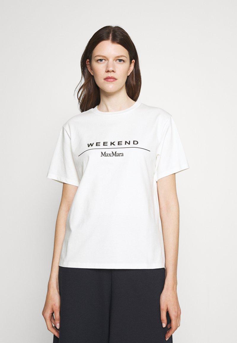 WEEKEND MaxMara - NAVETTA - Print T-shirt - white