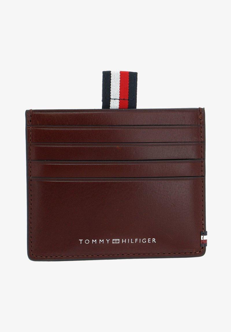Tommy Hilfiger - Business card holder - chestnut