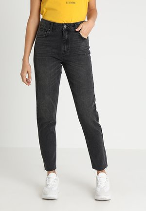 CRYSTAL MOM  - Relaxed fit jeans - black washed