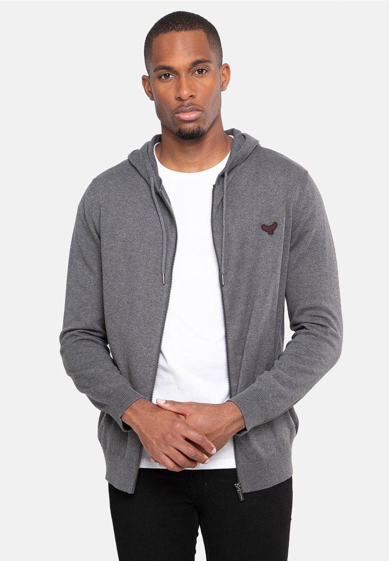Threadbare - CHURA - Zip-up sweatshirt - grau