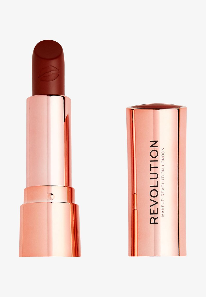 Make up Revolution - SATIN KISS LIPSTICK - Lipstick - fling