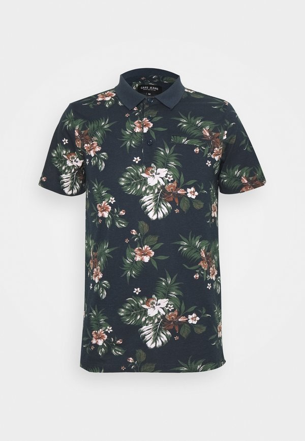 Cars Jeans TESCO PRINT - Koszulka polo - navy/granatowy Odzież Męska OSDS