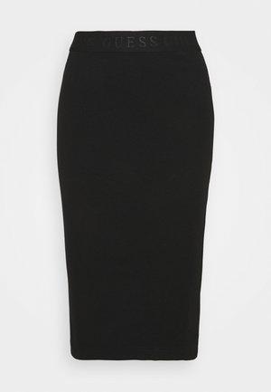 AMY SKIRT - Spódnica ołówkowa  - schwarz