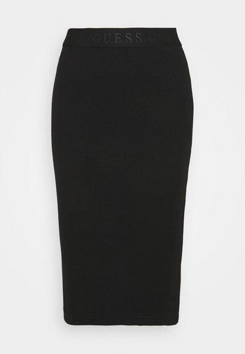 AMY SKIRT - Pencil skirt - schwarz