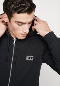 Diesel - BRANDON - Zip-up hoodie - black - 3