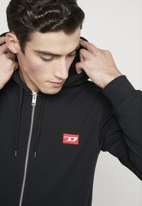 Diesel - BRANDON - veste en sweat zippée - black - 3