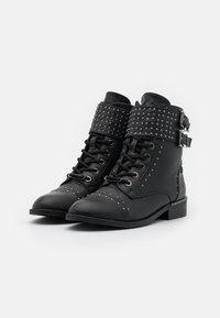 XTI - Kovbojské/motorkářské boty - black - 2