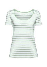 Esprit - TSHIRT DANCER - Print T-shirt - leaf green - 9