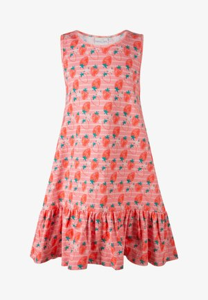 Jersey dress - flamingo