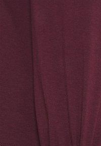 Vero Moda - VMPANDA VOLUME - Langærmede T-shirts - winetasting - 2