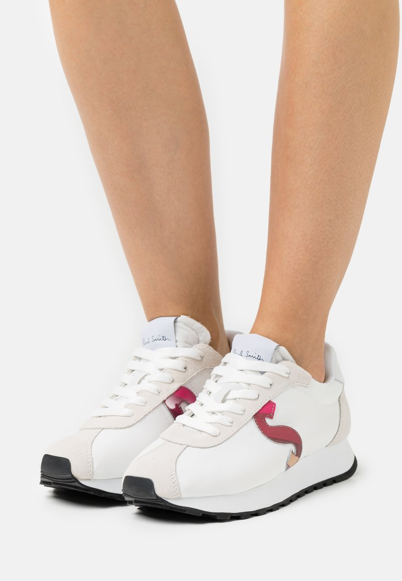 Paul Smith - SEVENTIES - Baskets basses - white