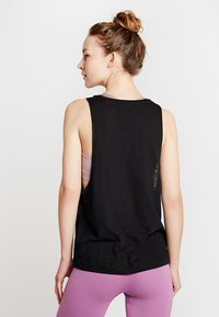 Hey Honey - TANK BREATHE EASY  - Top - black - 2