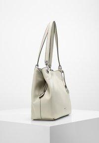 L. CREDI - SHOPPER EBONY - Handbag - stone - 2