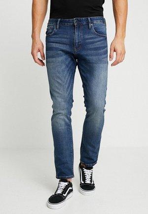 DAMAN - Jeans straight leg - sixways mid blue