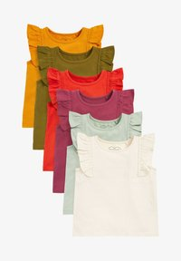 Next - 6 PACK - T-shirt basic - red - 0