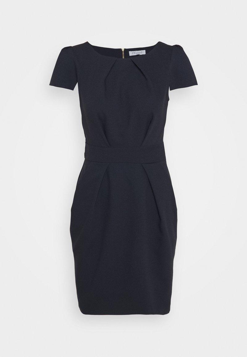 Closet - CLOSET TULIP DRESS - Day dress - navy