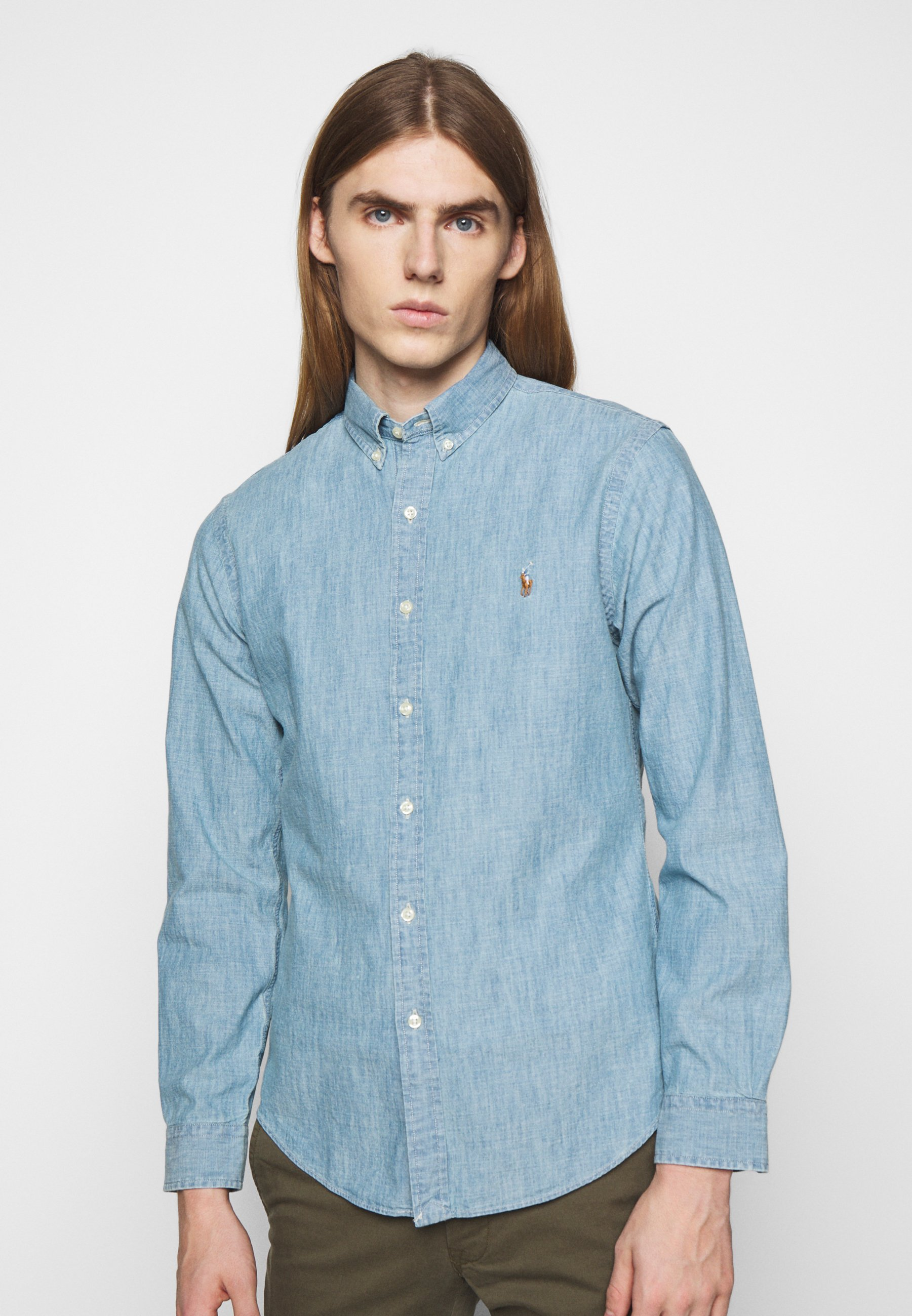 Homme CHAMBRAY SLIM FIT - Chemise
