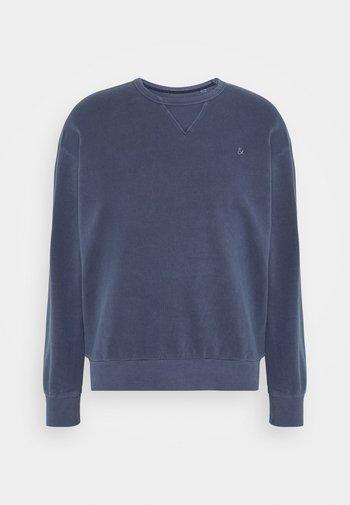 JJEWASHED CREW NECK - Sweatshirt - navy blazer