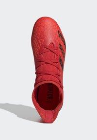 adidas Performance - PREDATOR FREAK - Moulded stud football boots - red - 3