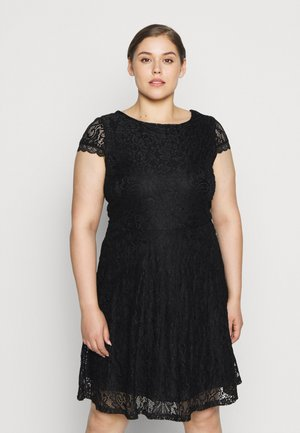 VMSASSA SHORT DRESS - Vestito estivo - black