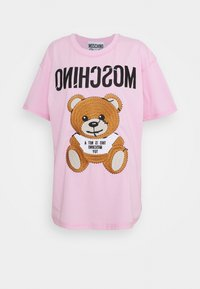 MOSCHINO - Print T-shirt - fantasy pink - 5