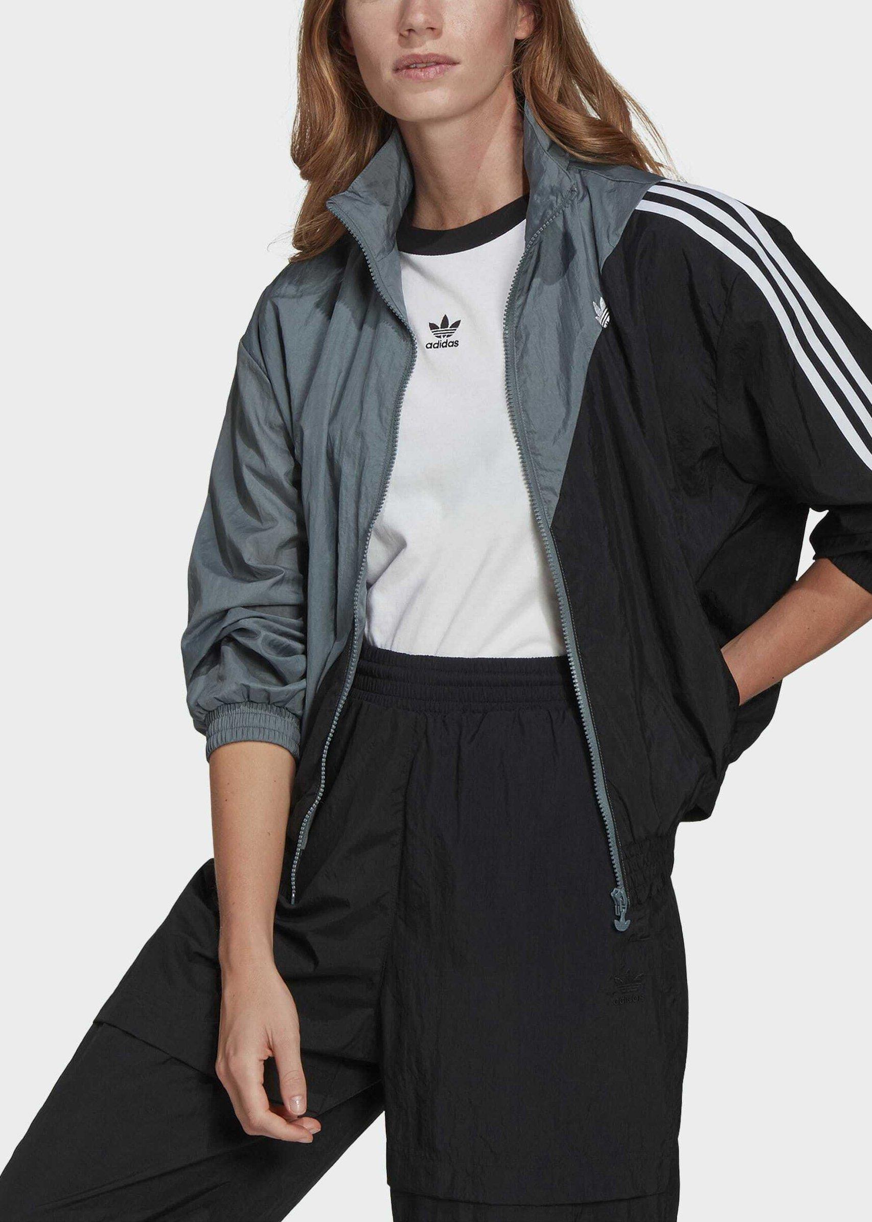 Women ADICOLOR SLICED TREFOIL  - Training jacket