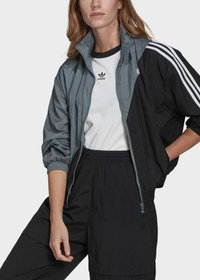 adidas Originals - ADICOLOR SLICED TREFOIL  - Training jacket - blue - 3