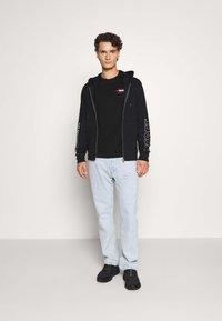 Diesel - BRANDON - veste en sweat zippée - black - 1