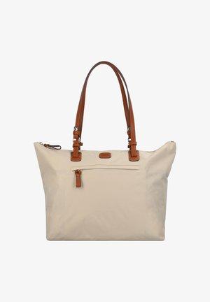 Handbag - beige-leather
