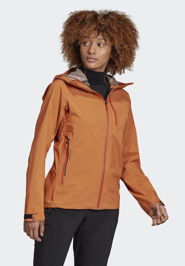 PARLEY THREE-LAYER JACKET - Waterproof jacket - brown