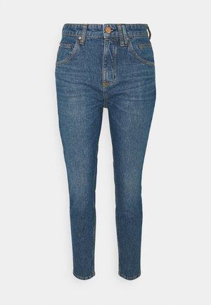 FREJA - Slim fit jeans - multi/bright 80's mid blue