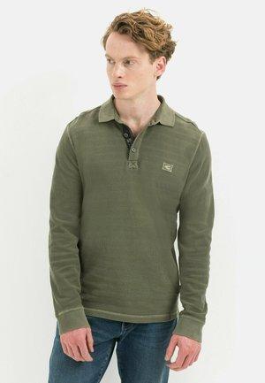 Polo shirt - olive brown