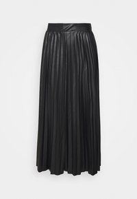 ONLY Tall - ONLANINA SKIRT  - Áčková sukně - black - 0